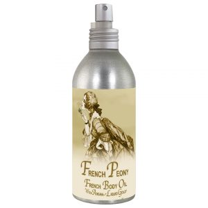 French Peony French Body Argan Oil