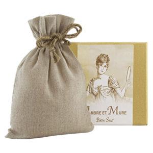 Ambre Bath Salts with Linen Bag