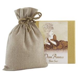 Desir Bath Salts with Linen Bag