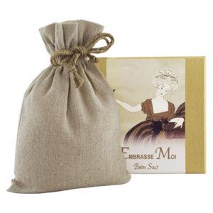 Embrasse Bath Salts with Linen Bag