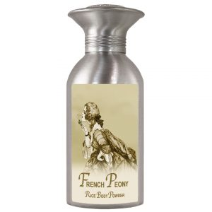 French Peony Rice Body Powder Canister