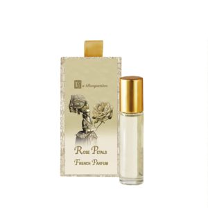 Rose Petal French Perfume 10ml. Roll on