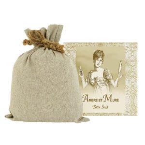 Ambre Bath Salts with Linen Bag (16oz)