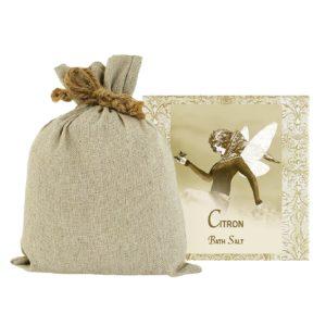 Citron Bath Salts with Linen Bag (16oz)