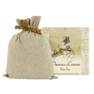 Dimanche Bath Salts with Linen Bag (16oz)