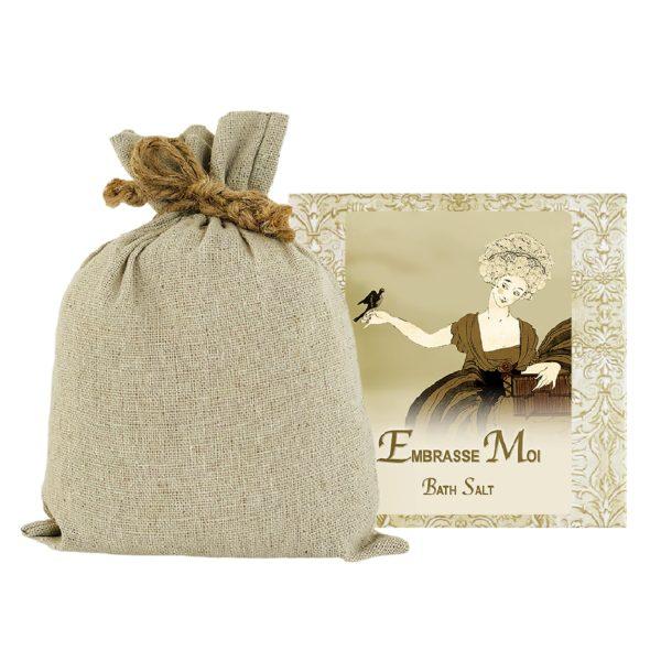 Embrasse Bath Salts with Linen Bag (16oz)