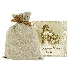 Pamplemousse Bath Salts with Linen Bag (16oz)