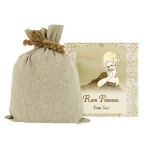 Reve Passionel Bath Salts with Linen Bag (16oz)