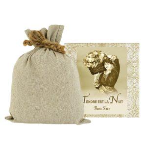 Tendre est la Nuit Bath Salts with Linen Bag (16oz)