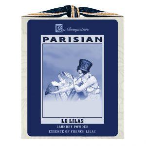 Le Lilas / French Lilac Blue & White Laundry Powder Box 1lb.