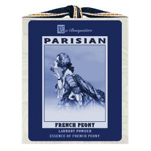 French Peony Blue & White Laundry Powder Box 1lb.