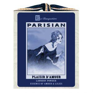 Plaisir Blue & White Laundry Powder Box 1lb.