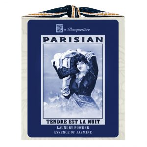 Tendre est la Nuit Blue & White Laundry Powder Box 1lb.