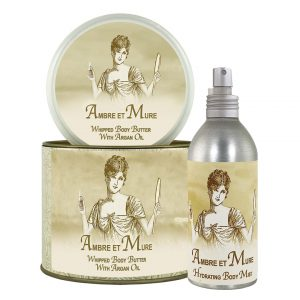 Ambre et Mure Argan Oil Whipped Body Butter & Hydrating Mist