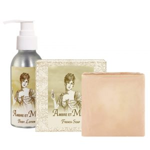 Ambre Body Lotion (4oz) & French Soap (5oz)
