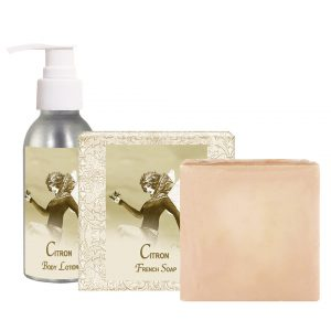 Citron Body Lotion (4oz) & French Soap (5oz)