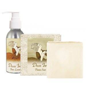 Delice Body Lotion (4oz) & French Soap (5oz)