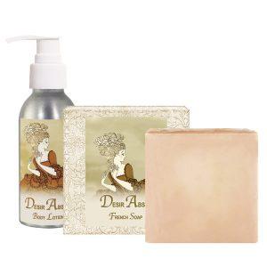 Desis Body Lotion (4oz) & French Soap (5oz)