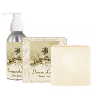 Dimanche Body Lotion (4oz) & French Soap (5oz)