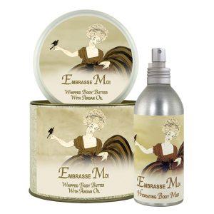 Embrasse Moi Argan Oil Whipped Body Butter & Hydrating Mist