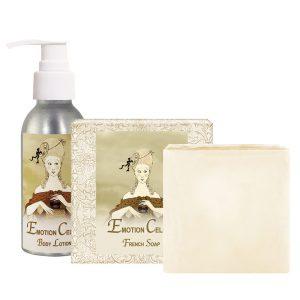 Emotion Body Lotion (4oz) & French Soap (5oz)