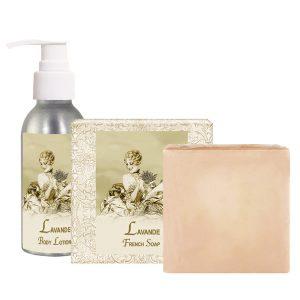 Lavender Body Lotion (4oz) & French Soap (5oz)