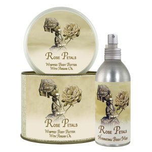 Rose Petal Argan Oil Whipped Body Butter & Hydrating Mist