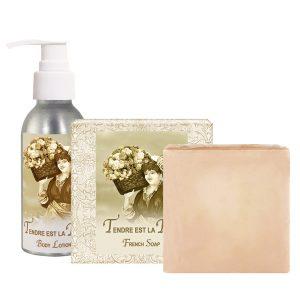 Tendre est la Nuit Body Lotion (4oz) & French Soap (5oz)