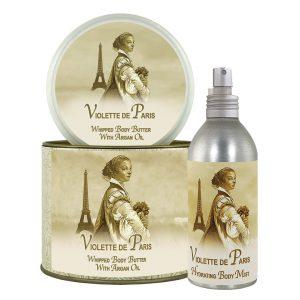 Violette Argan Oil Whipped Body Butter & Hydrating Mist