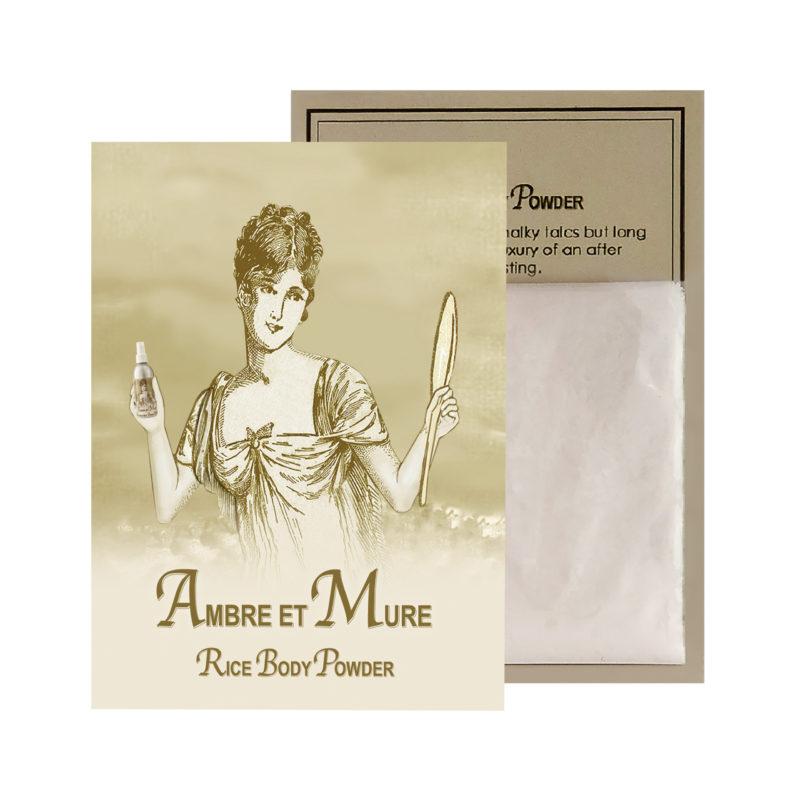 Ambre Rice Body Powder Sachet