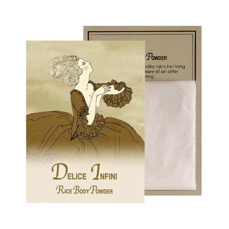 Delice Rice Body Powder Sachet (0.5oz)