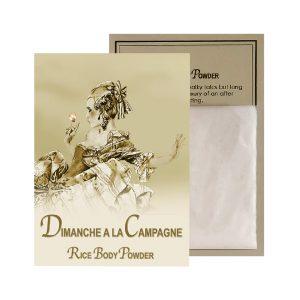 Dimanche Rice Body Powder Sachet (0.5oz)