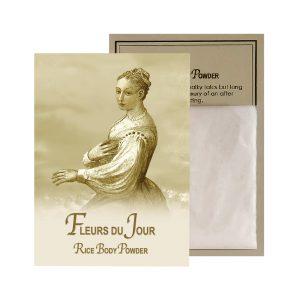 Fleurs du Jour / Marina Blue Rice Body Powder Sachet (0.5oz)
