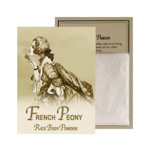 French Peony Rice Body Powder Sachet (0.5oz)