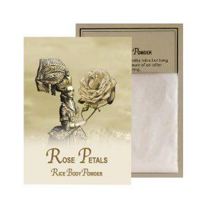 Rose Petals Rice Body Powder Sachet (0.5oz)