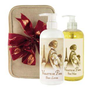 Violette de Paris Body Lotion & Body Wash