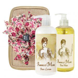 Ambre Body Lotion & Body Wash (17oz)