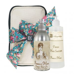 Ambre Body Argan Oil (8oz) & Hand Sanitizer (9oz)
