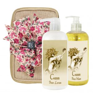 Cassis Body Lotion & Body Wash (17oz)
