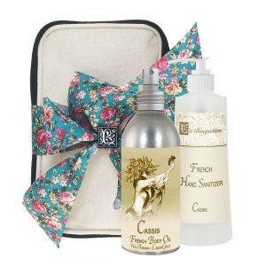 Cassis Body Argan Oil (8oz) & Hand Sanitizer (9oz)