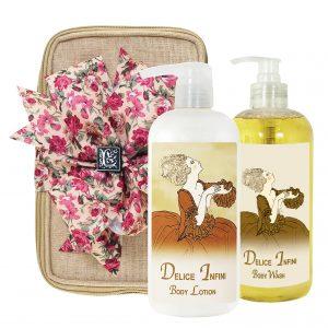 Delice Body Lotion & Body Wash (17oz)