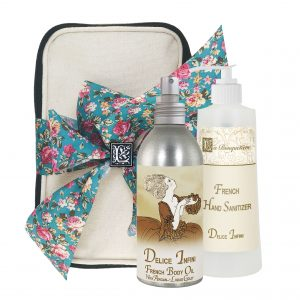 Delice Body Argan Oil (8oz) & Hand Sanitizer (9oz)