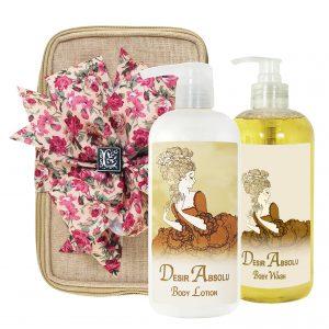Desir Body Lotion & Body Wash (17oz)