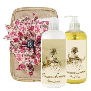 Dimanche Body Lotion & Body Wash (17oz)