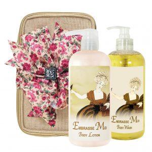 Embrasse Body Lotion & Body Wash (17oz)
