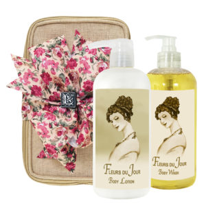 Fleurs du Jour / Marina Blue Body Lotion & Body Wash (17oz)