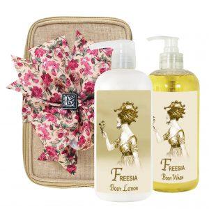 Freesia Body Lotion & Body Wash (17oz)