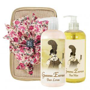 Gardenia Exotique Body Lotion & Body Wash (17oz)