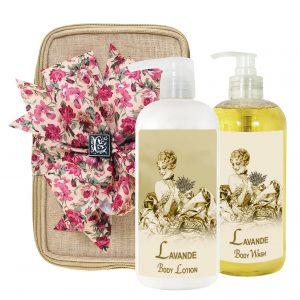 Lavender Body Lotion & Body Wash (17oz)