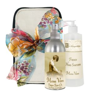 Matins Body Argan Oil (8oz) & Hand Sanitizer (9oz)